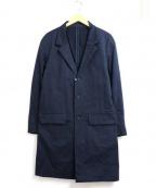 Rags McGREGOR(ラグス マクレガー)の古着「ライトチェスターコート」|ネイビー