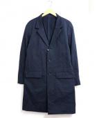 Rags McGREGOR(ラグスマックレガー)の古着「ライトチェスターコート」|ネイビー