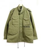 Rags McGREGOR(ラグス マクレガー)の古着「M-65ミリタリージャケット」|カーキ