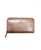 FENDI(フェンディ)の古着「ラウンドファスナー財布」|ブラウン