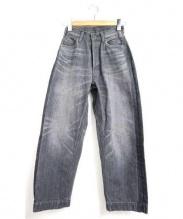 BRU NA BOINNE(ブルーナボイン)の古着「マーチデニム」|ブラック