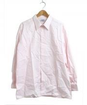HERMES(エルメス)の古着「ドレスシャツ」 ピンク