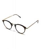 OLIVER PEOPLES(オリバーピープル)の古着「伊達眼鏡」|ブラウン