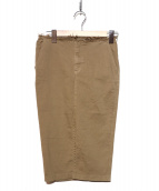 DEUXIEME CLASSE(ドゥーズィエムクラス)の古着「ハイストレッチスカート」 ブラウン