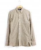 RRL(ダブルアールエル)の古着「チェックシャツ」|ベージュ