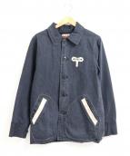 WEIRDO(ウィアード)の古着「ヴィンテージ加工カバーオール」|ブラック