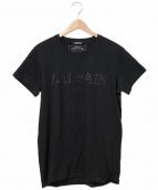 BALMAIN(バルマン)の古着「ロゴTシャツ」|ブラック