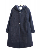 LENER×Leilian(レネール×レリアン)の古着「フーデットコート」