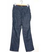N.HOOLYWOOD(エヌハリウッド)の古着「リネンパンツ」|ネイビー