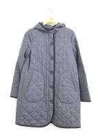 MACKINTOSH PHILOSPHY(マッキントッシュ フィロソフィー)の古着「ウールサキソニーキルティングコート」|グレー