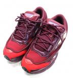 adidas by RAF SIMONS(アディダス バイ ラフシモンズ)の古着「スニーカー」|ワインレッド