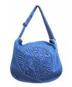 HUNTING WORLD(ハンティングワールド)の古着「デニムメッセンジャーバッグ」