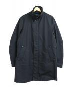 DURBAN(ダーバン)の古着「ダウンライナースタンドカラーコート」|ブラック