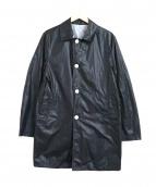 Traditional Weatherwear(トラディショナル ウェザーウェア)の古着「リバーシブルステンカラーコート」|ブラック