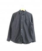 COMOLI(コモリ)の古着「ベタシャン コモリシャツ」 グレー