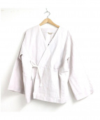 ARTS&SCIENCE(アーツアンドサイエンス)の古着「kimono wrap jacket」|ベージュ