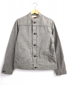 BRU NA BOINNE(ブルーナボイン)の古着「デニムジャケット」|グレー