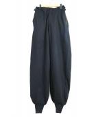 THE Sakaki(ザ サカキ)の古着「ニッカポッカワイドパンツ」|ブラック