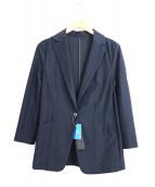 LAUTRE AMONT(ロートレアモン)の古着「クールタッチテーラードジャケット」|ネイビー