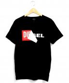 DIESEL(ディーゼル)の古着「ボックスロゴTシャツ」|ホワイト