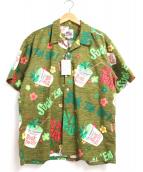 東洋エンタープライズ(トウヨウエンタープライズ)の古着「アロハシャツ」 オリーブ