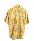 ETRO(エトロ)の古着「バティックペイズリーシャツ」|イエロー