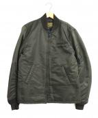 RADIALL(ラディアル)の古着「MA-1ジャケット」 カーキ