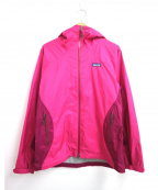 Patagonia()の古着「レインシャドージャケット」|ピンク
