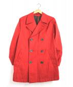 HERNO(ヘルノ)の古着「カラートレンチコート」|レッド
