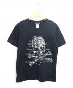 Mastermind JAPAN(マスターマインド ジャパン)の古着「スカルストーンプリントTシャツ」|ブラック