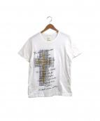 Mastermind JAPAN(マスターマインドジャパン)の古着「ストーン装飾Tシャツ」|ホワイト