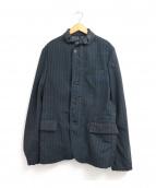 JUNYA WATANABE COMME des GARCONS MAN(ジュンヤワタナベ コムデギャルソン マン)の古着「ストライプジャケット」|グリーン