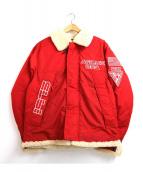 AVIREX(アビレックス)の古着「ダウンジャケット」|レッド