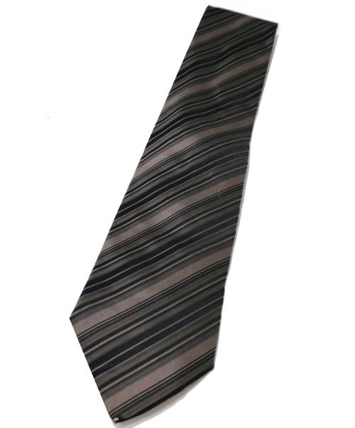 GUCCI(グッチ)GUCCI (グッチ) シルクネクタイ ブラック サイズ:- シルク100% イタリア製の古着・服飾アイテム