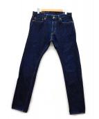 MOMOTARO JEANS(モモタロー ジーンズ)の古着「セルビッチデニムパンツ」|インディゴ