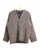 Needles Sportswear(ニードルズスポーツウェア)の古着「アルパカブークレカーディガン」|ブラウン