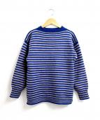 LeTricoteur(ル トリコチュール)の古着「TRADITIONAL WOOL GUERNSEY SWEA」|ブルー