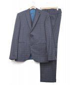 CERA UNA VOLTA(チェラウナボルタ)の古着「3ピーススーツ」|ネイビー