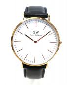 Daniel Wellington(ダニエルウェリントン)の古着「リストウォッチ/腕時計」|ホワイト