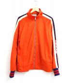GUCCI(グッチ)の古着「テクニカルジャージージャケット」|オレンジ