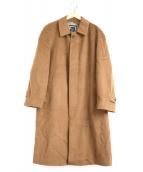 Christian Dior(クリスチャンディオール)の古着「カシミヤステンカラーコート」|ブラウン