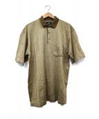 dunhill(ダンヒル)の古着「イタリア製ポロシャツ」|ベージュ