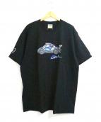 BAPE×PAGANI(ベイプ×パガーニ)の古着「コラボプリントTシャツ」 ブラック