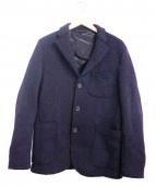 BARENA(バレナ)の古着「ウール3Bジャケット」|パープル