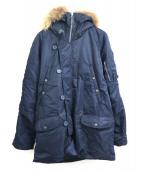 AVIREX(アビレックス)の古着「N-3Bタイプコート」|ネイビー