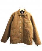 SAMURAI JEANS(サムライジーンズ)の古着「A-2デッキジャケット」|ベージュ