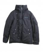 AVIREX(アビレックス)の古着「アクティブミリタリーフーデッド中綿ジャケット」|ブラック