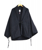 SOU・SOU(ソウソウ)の古着「羽織ジャケット」|ブラック