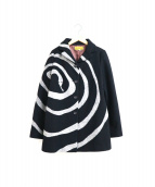 Jocomomola(ホコモモラ)の古着「ウールジャケット」 ブラック