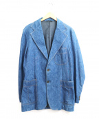 LEVI'S(リーバイス)の古着「[古着]ヴィンテージデニムテーラードジャケット」 インディゴ